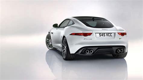 2018 Jaguar F Type R Coupe White 2 Wallpaper Hd Car