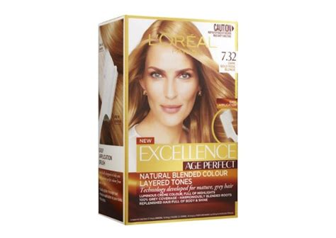 L'oreal Excellence Age Perfect 7.32 Dark Gold Rose Blonde