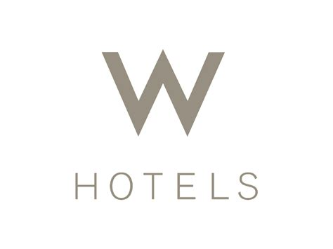 W Hotels logo | Logok