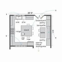 inspiring square kitchen plan Inspiring Square Kitchen Plan - Home Design #1091