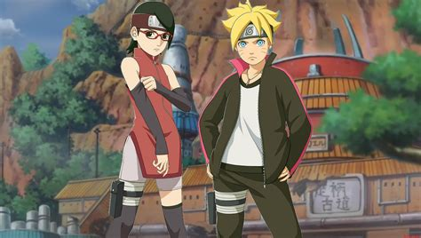 Boruto And Sarada Wallpaper 2 By Weissdrum On Deviantart