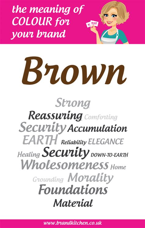 meaning of the color brown the meaning of the colour brown for your brand brand kitchen