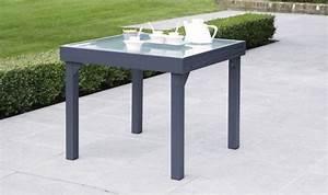 Table De Jardin Grise : catgorie table de jardin page 3 du guide et comparateur d ~ Teatrodelosmanantiales.com Idées de Décoration