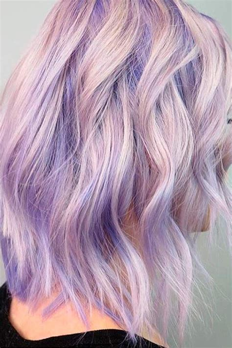 36 Light Purple Hair Tones That Will Make You Want To Dye