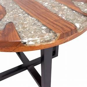 Table Basse Resine : acheter vidaxl table basse teck r sine 60 cm pas cher ~ Teatrodelosmanantiales.com Idées de Décoration