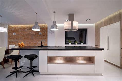 cuisine mur meuble blanc 1001 conseils et idées pour aménager une cuisine moderne
