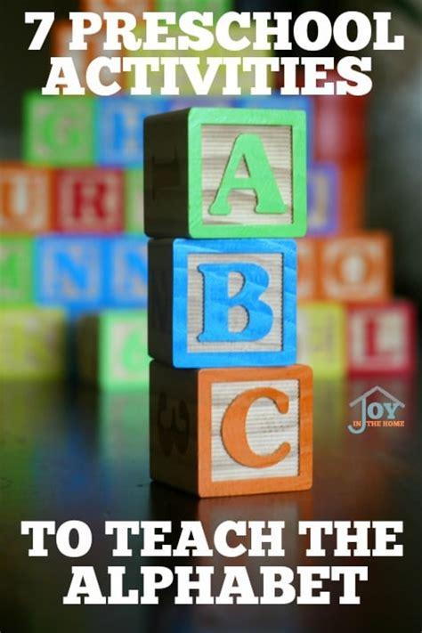 7 preschool activities to teach the alphabet 529 | 7PreschoolActivitiestoTeachtheAlphabet