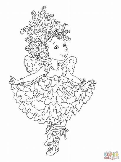 Coloring Nancy Fancy Pages Curtseying Printable Drawing