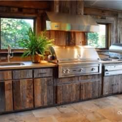 rustic outdoor kitchen ideas outdoor kitchen with barn wood outdoor kitchen and patio rustic wood wood