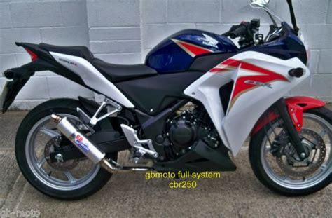 cbr all models gbmoto race exhaust honda cbr 250 cbr250 new model 2011 2012