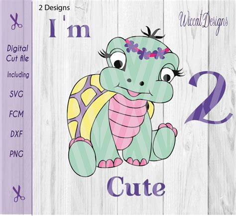 Machine embroidery files svg files instant download payment via paypal. Turtle svg, girl svg, baby svg, two svg, by Wiccatdesigns ...