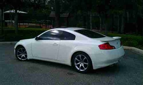 free car manuals to download 2003 infiniti g auto manual buy used 2003 infiniti g35 sport coupe 6 speed manual bose loaded 6mt pearl white black in