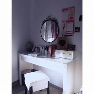 Table De Maquillage Ikea : tabouret coiffeuse ikea ~ Nature-et-papiers.com Idées de Décoration