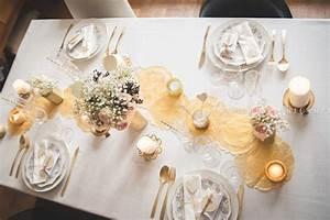 Table De Fete Decoration Noel : decoration table de noel blanc et or ~ Zukunftsfamilie.com Idées de Décoration