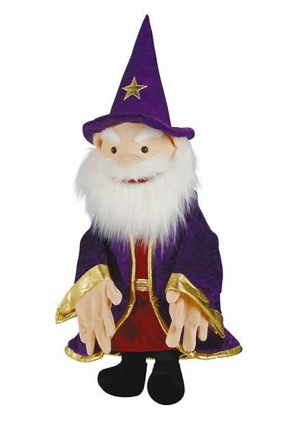 Tovenaar Handpop Wizard Puppet Speech Toys Language