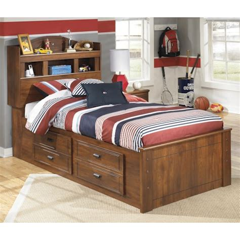 signature design  ashley barchan twin bookcase bed