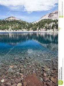 Mountain Lake Stock Image  Image Of California  Lake
