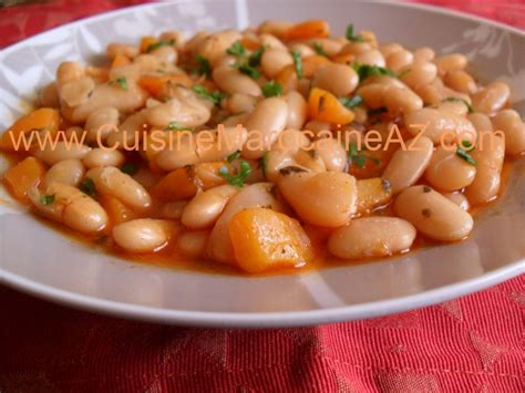 cuisine haricot blanc cuisine marocaine haricot blanc