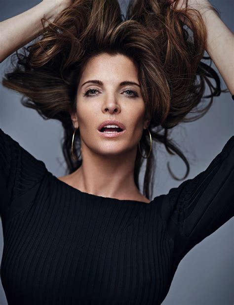 Stephanie Seymour Elle Spain October Gilles