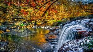 Download, Wallpaper, 1920x1080, Waterfall, Forest, River, Nature, Full, Hd, 1080p, Hd, Background