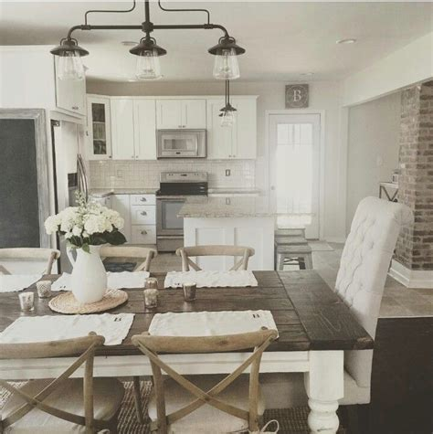 dining room breathtaking farmhouse kitchen table