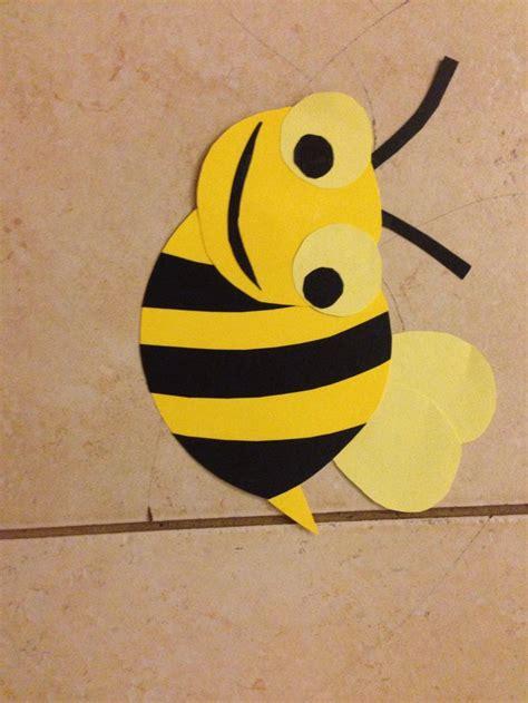 bumble bee construction paper construction paper