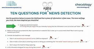 10 Questions for Fake News Detection
