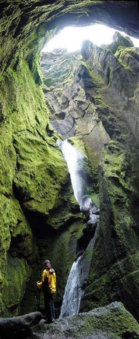 stakkholtsgja gorge thorsmoerk iceland  gorge