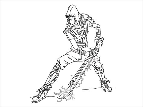 Best Fortnite Coloring Pages Printable Free
