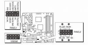 I Need The Pinout For The Front Panel Connector For A Dell