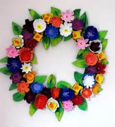 make an egg wreath dollar store crafts