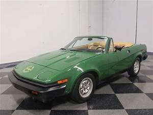 1980 Triumph Tr7 Convertible 1980 Used Manual For Sale
