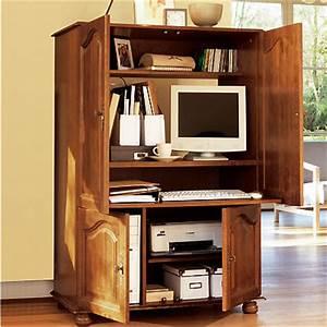 Meuble Bureau Ordinateur : bureaux et meubles informatiques ~ Nature-et-papiers.com Idées de Décoration
