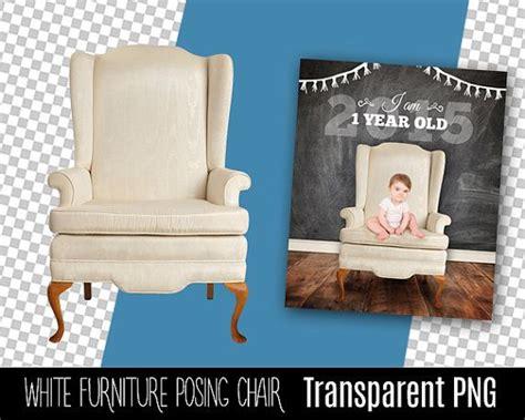 white digital elegant chair transparent png prop  add