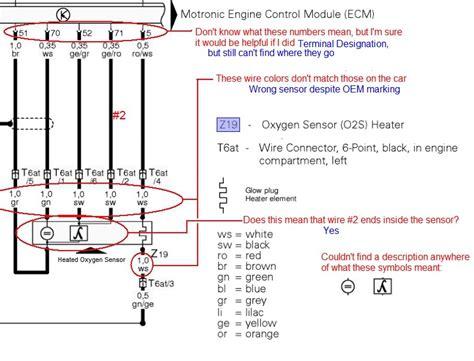 O2 Wiring Diagram by Honda O2 Sensor Wiring Color Codes Honda Wiring Diagram