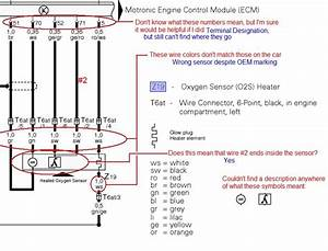 Honda O2 Sensor Wiring Color Codes  Honda  Wiring Diagram