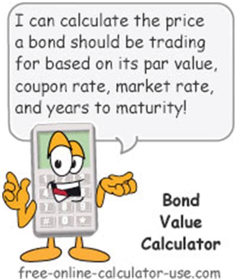 Div Yield Calculation by Bond Value Calculator What It Should Be Trading At