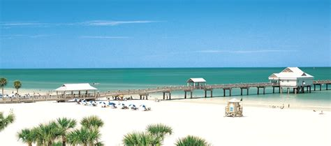 Clearwater Beach, Florida, One of The Best Beaches in The