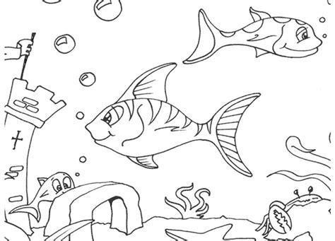 13 gambar hewan laut untuk mewarnai koleksi istimewa