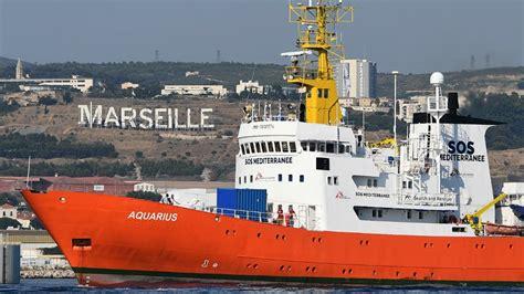 Aquarius Bateau Sete by S 232 Te Propose D Accueillir L Aquarius Gibraltar Lui Retire
