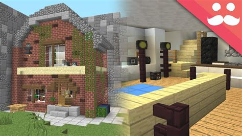 transform  real life house  minecraft youtube