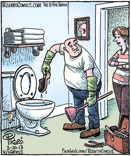 cartoon   day  clogged common sense evaluation
