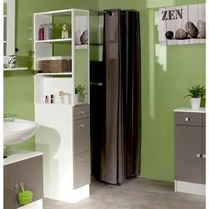 Gap colonne de separation de salle de bain 54 cm blanc for Separation salle de bain