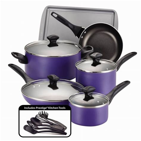 non stick cookware set pots and pans aluminum coating 15 cooking kitchen ebay