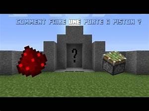 minecraftfr tuto redstone 1 comment faire une porte With comment faire une porte