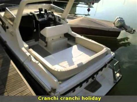 barca cranchi holiday diesel youtube