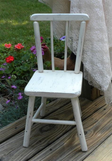 small wooden chair shabby chic decor decorative wooden chair ivory white shabby chic