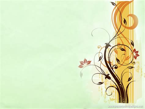 flowers powerpoint designs