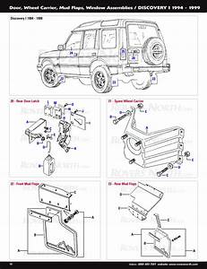 Land Rover Discovery I Body Panels