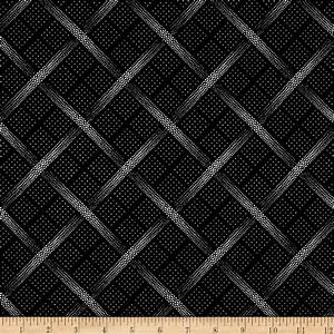 The Steel Collection Metallic Plaid Black/Silver